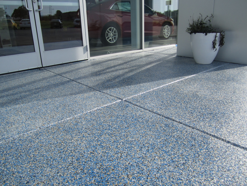 List of synonyms and antonyms of the word outdoor epoxy for Concrete floor covering