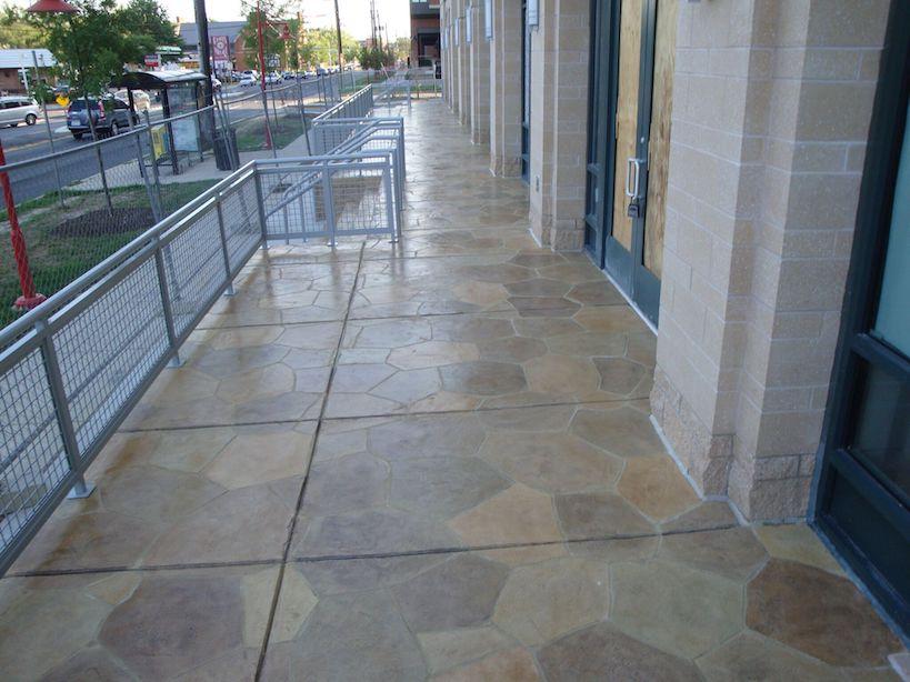 A Stamped Concrete Texture Installer Miami Fl 786