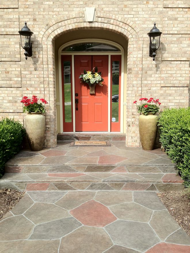 front entryway with_stamped overlays