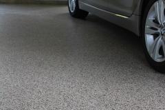 chip garage floor with epoxy