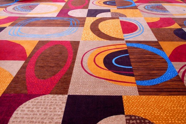 colorful outdoor rug